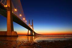 Lisboa #1 by André Viegas, via 500px da gamalisboa, pont vasco, endless bridg, vasco da, gama 172, lisbon, place, andr viega, andré viega