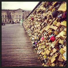 """Photo by capmardle"" - Lover's Bridge in Paris"