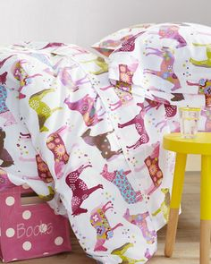 girl room, poni percal, ponies, garnet hill, daughters room