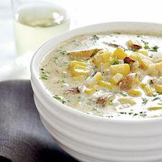 Grilled Corn and Potato Chowder Recipe