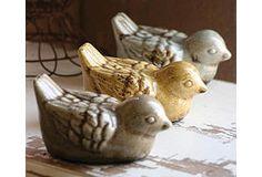 earthen birds