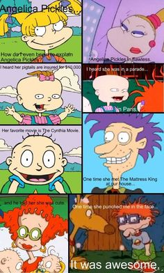 Rugrats meets mean girls lol