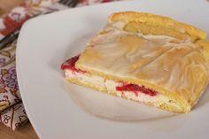 Strawberry Cream Cheese Danish