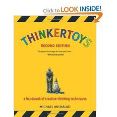 books, book wishlist, book worth, creativethink techniqu, thinkertoy