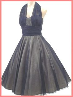 vintage style party dress