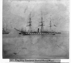 Flag ship, LANCASTER, U.S. Navy