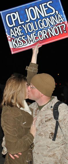 Marine Corps deployment homecoming <3 home after 7 months in Afghanistan
