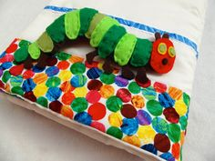 Soft Quiet Busy Book   The Very Hungry Caterpillar by caterpillar.