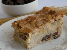 Apple & Raisin Noodle Kugel - Gluten Free