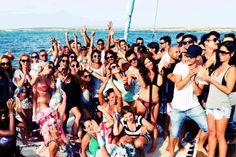 Boat Parties Ibiza Party Wallpaper