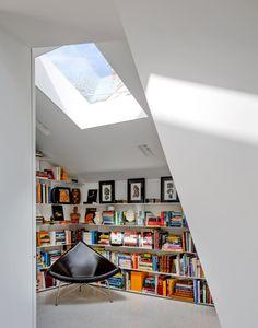 decor, book nooks, reading nooks, librari, angl, view, read nook, afram, design