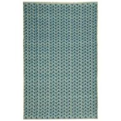@Overstock.com - This indoor outdoor rug has a blue background and displays stunning panel colors of blue and white. This handwoven rug is made from recycled plastic bottles and resistant to mold, mildew, sun, water and other elements.http://www.overstock.com/Home-Garden/Handmade-Thom-Filicia-Ackerman-Summer-Blue-Rug-4-x-6/5277529/product.html?CID=214117 $75.64