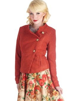 Orange You Happy Jacket | Mod Retro Vintage Jackets | ModCloth.com