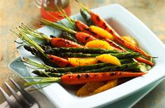 Veggies on the grill? Yes please!