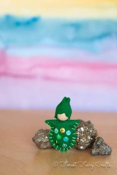 Wee Leprechaun Baby by Forest Fairy Crafts. Happy Saint Patrick's Day!