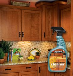 Wood cabinet cleaner on pinterest cleaning wood cabinets for Best cleaning solution for greasy kitchen cabinets