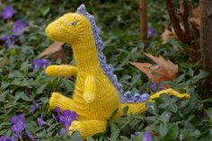 Squishy dragon belly! >> Ravelry: silverstag21's Aerwyna the Sea Dragon #freepattern #knitting