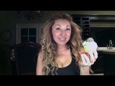 Thin Mint Chocolate Chip Girl Scout Cookie Cupcakes by Bubble Crumb Videos