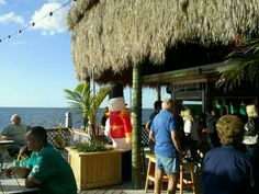 Gulf of Mexico to drink to | Yelp / Sam's Beach Bar in Hudson, FL