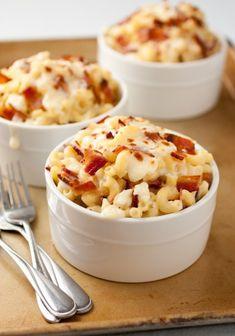 Bacon Feta Macaroni and Cheese