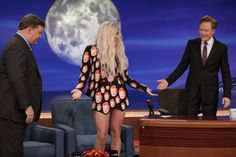 Ke$ha Shows Off Her Conan-Themed Getup