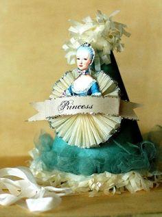 Marie Antoinette Princess Party Hat
