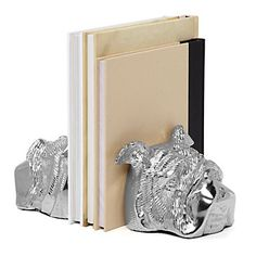 Z Gallerie Pug Bookends Z Gallerie Bulldog Bookends