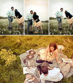 cute engagement photos