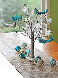 Twig Tree Tabletop Decorating Collection