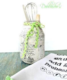 Recycled glass jar ideas!