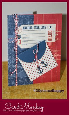 CardMonkey's Paper Jungle: #30yearsofhappy - September 17