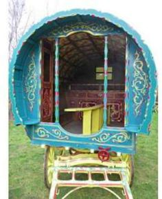 Romany Gypsy Bow Top Caravan  This traditional bow top caravan was purchased in 1969 near Doncaster from a traveller named Tommy Gaskin, whose daughter was getting married and wanted a more modern...