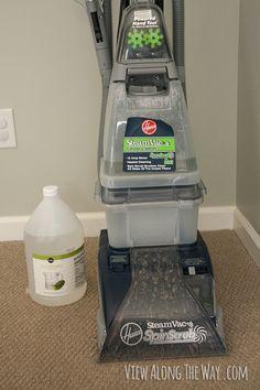 Vinegar as carpet cleaner!