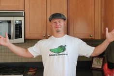 Mike Hultquist: chili pepper & jalapeño chef , via the Official Pinterest Blog