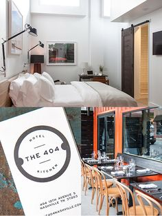 The 404 Hotel, Nashville (Via Design*Sponge)