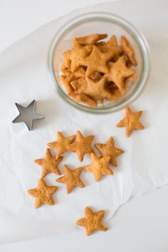 Cheesy Starfish crackers.