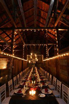 barn wedding. my dream