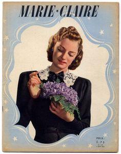 Marie Claire 1940 N°149 Robert Piguet