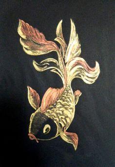 Rotulador sobre cartulina, 25 x 30 cm Autora  Grace