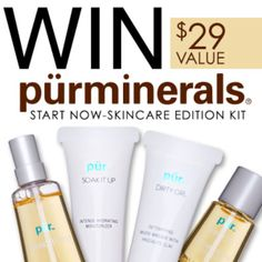 Enter to win Pur Minerals on Dermstore's facebook page!