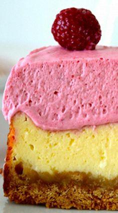 Cheesecake and Raspberry Cream