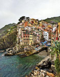a gorgeous italian seaside town