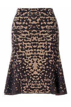 #MMissoni | Lizard Jacquard Lurex Skirt | Spring 2014 Collection