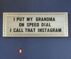 Grandma is on speed dial