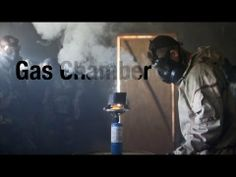 It's all about survival — Marines endure the dreaded gas chamber.