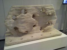 Concrete 3D Printing - Enrico Dini - D-Shape technology, Bouwbeurs Jaarbeurs, Utrecht, 2013