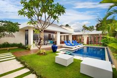 Modern Minimalist 4BR Villa, Luxury House in Seminyak, Bali | Amazing Accom