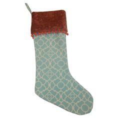 Chic Christmas Stocking