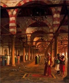 Prayer in the Mosque - Jean-Leon Gerome