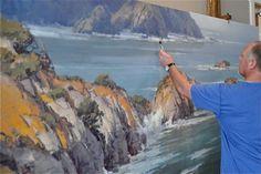 art inspir, artists, favorit art, california art, art idea, art studioworkout, artist studio, wall easel